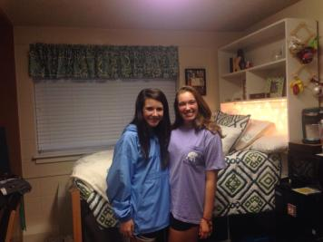Finally settled and ready to take on freshman year.